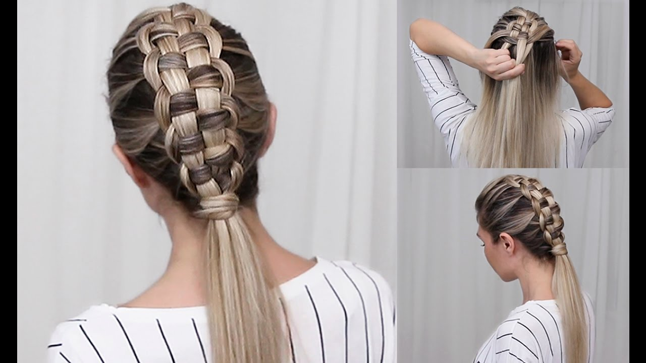 zipper braid diy tutorial
