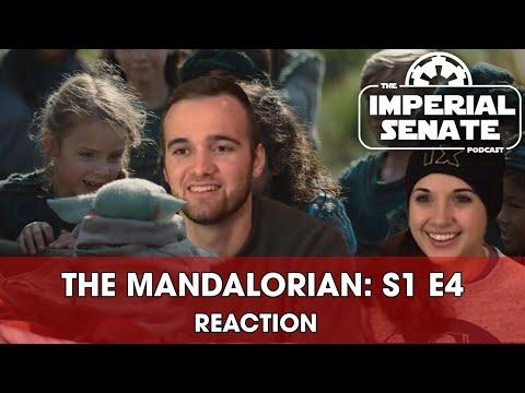 The Mandalorian: Episode Four (REACTION) S1E4
