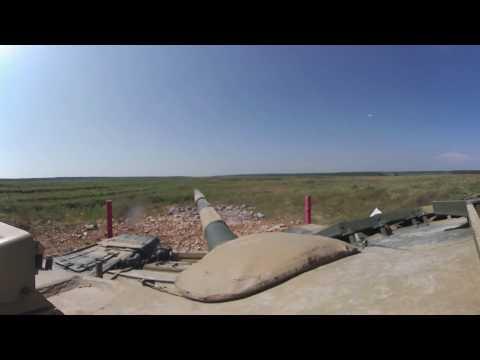 Russia's spectacular Tank Biathlon 2016 in 360 view
