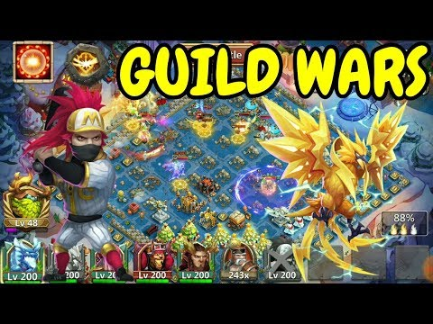Guild Wars With Scorch Ronin L Castle Clash