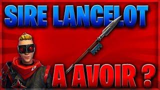 NEW LANCE! SIRE LANCELOT - FORTNITE SAUVER THE WORLD