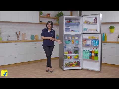 Samsung 415 L Frost Free Double Door 4 Star Refrigerator (Elegant Inox, RT42M553ES8/TL)