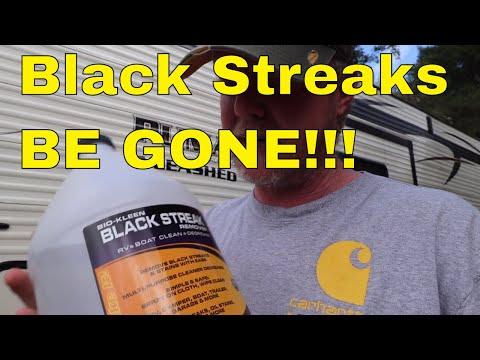 RV Black Streak Removal that Works!
