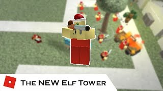 The NEW Elf Tower (All Upgrades) | Tower Battles [ROBLOX]