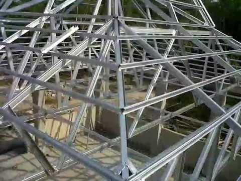 joglo dari baja ringan konstruksi youtube