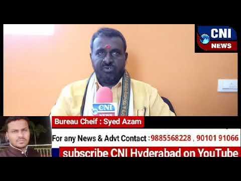 Telangana working president Nagesh. World human rights Speech