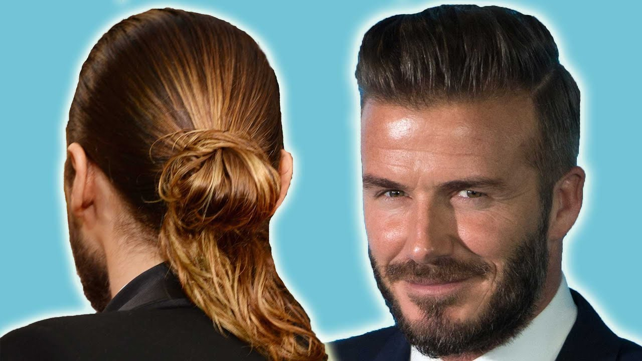 13 Celebs Whove Expertly Rocked Man Buns Youtube
