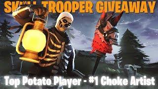 Skull Trooper - Top Potato Player - #1 Choke Artist - Family Friendly (Xbox One)