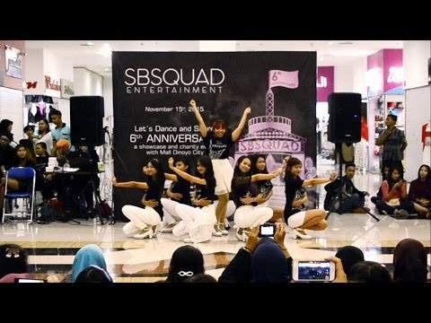 SNSD - Lion Heart Cover Danceby SOSHIQUEEN at SBSquad's 6th Anniversary