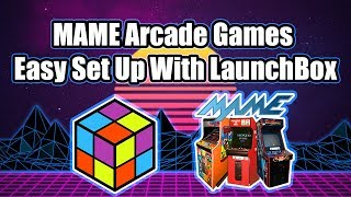 MAME Arcade Games NEW Easy Set Up With LaunchBox