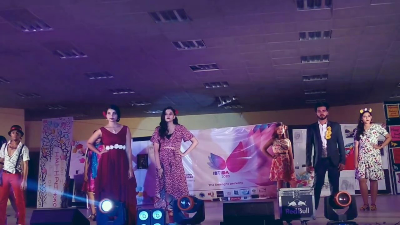 Ibtida Jadavpur University Fashion Show 2k20 Oat Youtube