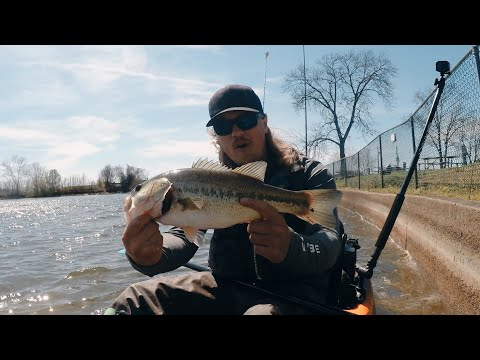 Pre-Spawn Kayak Bass Fishing (Jig Paid Off Today!) | Percy Priest Lake