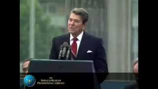 """Berlin Wall"" Speech - President Reagan"