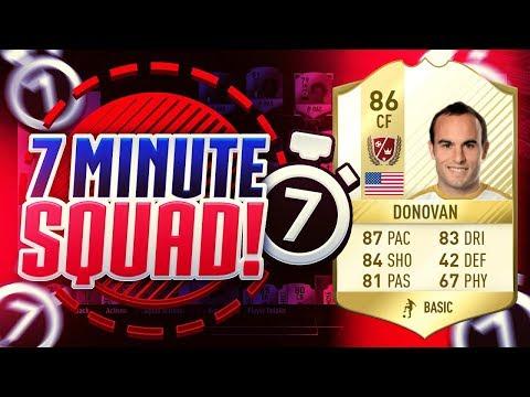 FIFA 17   LEGEND 7 MINUTE SQUAD BUILDER vs JACK54HD