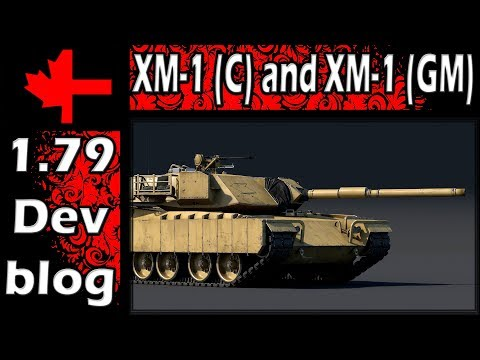 War Thunder - Devblog - XM-1 (C) and XM-1 (GM) w/ Special Guest