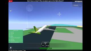 roblox lewis air boeing 787 dreamliner takeoff princes juliana airport
