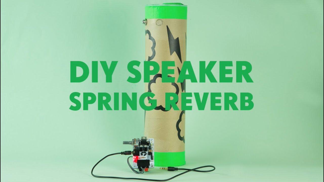 DIY Speaker Kit Spring Reverb: 10 Steps (with Pictures)