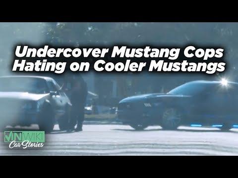 Undercover Mustang Cops Hate Donuts in Cooler Mustangs