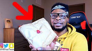 I RECEIVED A PACKAGE FROM SAUDI ARABIA!!!
