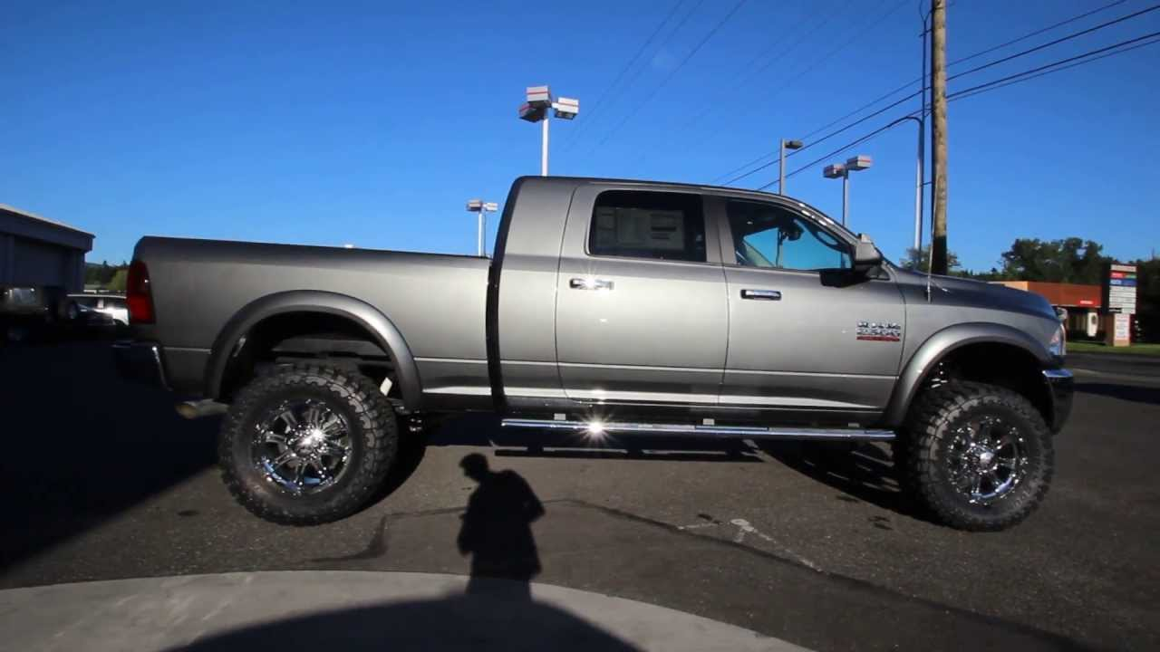 Dg565903 2013 Dodge Ram 2500 Big Horn Mega Cab Rairdondcjbellingham Gray Youtube