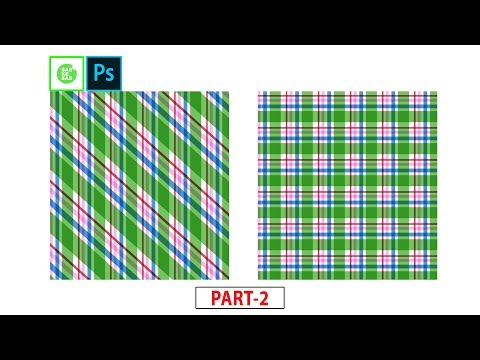 How to Make Striped and Plaid Check Pattern in Photoshop, part-2