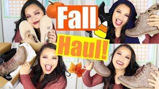 FALL FASHION HAUL! | Zappos! | Uggs, Volcom, Amuse Society & More!