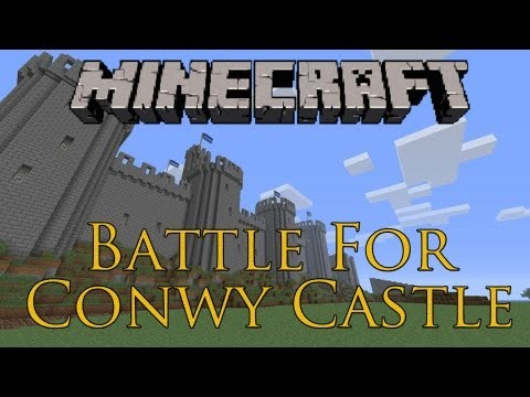 Minecraft: Survival Series (Battle For Conwy Castle) PvPCTF: Great Fun!