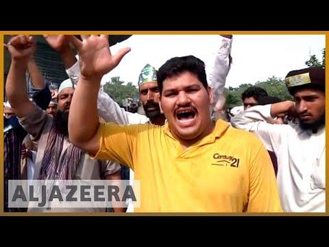 🇵🇰 🇳🇱 Pakistan marchers threaten Islamabad blockade over Dutch cartoons | Al Jazeera English