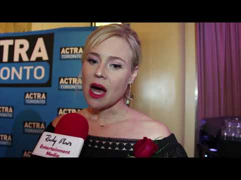 Chat w Actress & nominee Kristin Booth at the 16th Annual ACTRA Awards in Toronto.