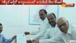 Telangana Elections | నామినేషన్ దాఖలు చేసిన కేసీఆర్