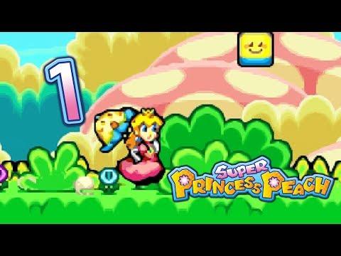 Super Princess Peach - Getting Vibes (Part 1) - Sage Gameplay