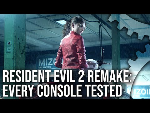 Resident Evil 2 Remake: PS4/PS4 Pro vs Xbox One/Xbox One X - Every Console Tested!