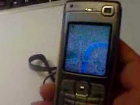 Virtual globe on a mobile phone