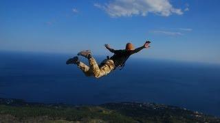 Шаан Кая прыжки со скалы роупджампинг