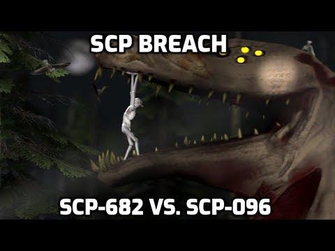 SCP-682 Vs. SCP-096 [SFM]