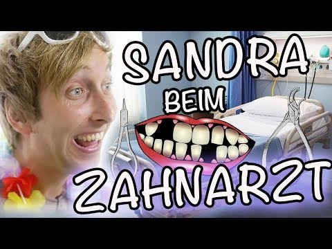 Sandra beim Zahnarzt