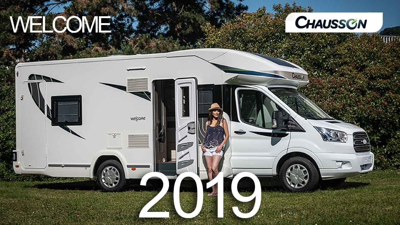 welcome 2019 chausson camping cars