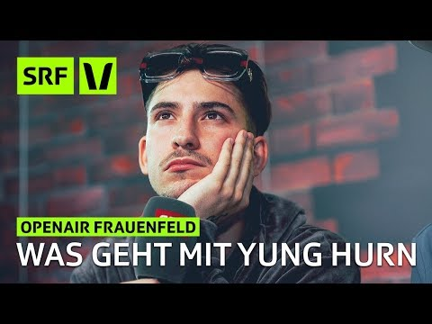 Openair Frauenfeld: Yung Hurn im verstörenden Interview | Festivalsommer 2018 | SRF Virus