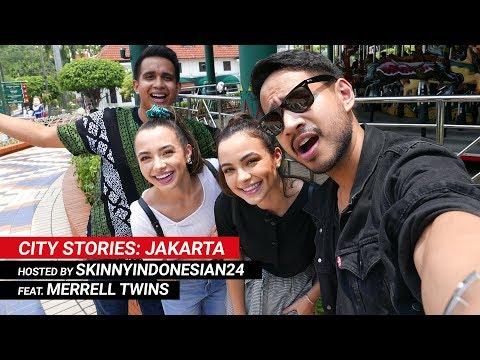 #YTFFCityStories: Jakarta | Merrell Twins & SkinnyIndonesian24