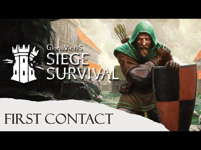 [FR] Siege Survival: Gloria Victis - First Contact - Pris au piège