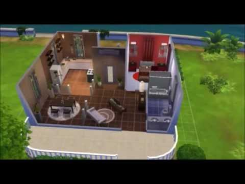 Single Haus bauen und Einrichten - YouTube