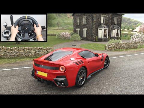 Ferrari F12 TDF  Forza Horizon 4 (Thrustmaster Steering Wheel) Gameplay