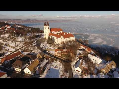 Tihany, Winter