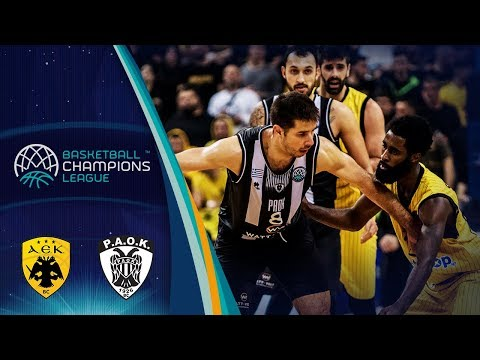 AEK v PAOK - Full Game - Rd. of 16 - Basketball Champions League 2018-19