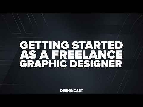 Getting Started as a Freelance Graphic Designer | DesignCast 004