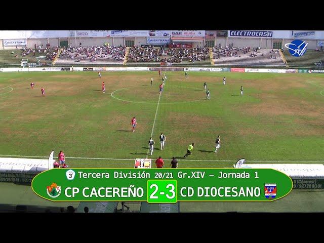CP Cacereño - CD Diocesano (3ª División Gr.XIV 20/21)