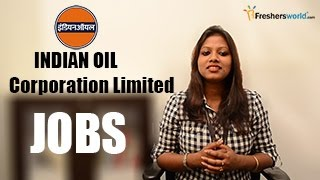 Iocl- Indian Oil Corporation Limited Recruitment Notification – Ongc Jobs Through Gate, Exam