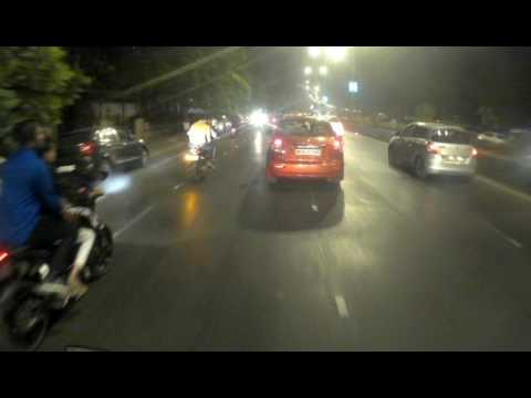 Marine Drive Road Ride with SUNCO action Camera