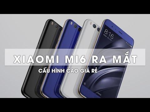 Xiaomi Mi6 với chip Snapdragon 835, 6GB RAM, 2 camera, 8 triệu ra mắt