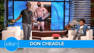 Don Cheadle Bombed as a Standup Comedian... in Front of His Parents